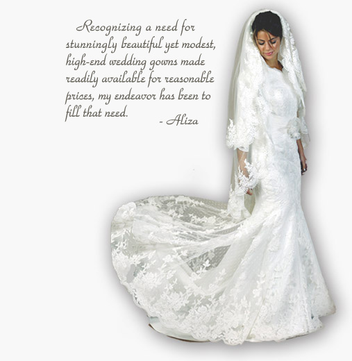 Custom Wedding Dresses Designed in Brooklyn New York by Aliza\'s ...